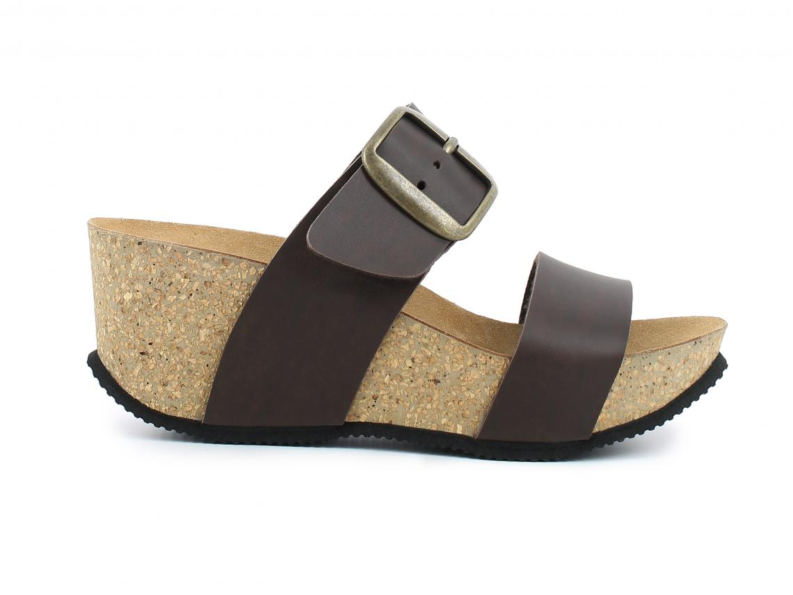 Bilde av Biomodex Dark Brown Premier Marrone Synthetic Sandaler Dame 36-41