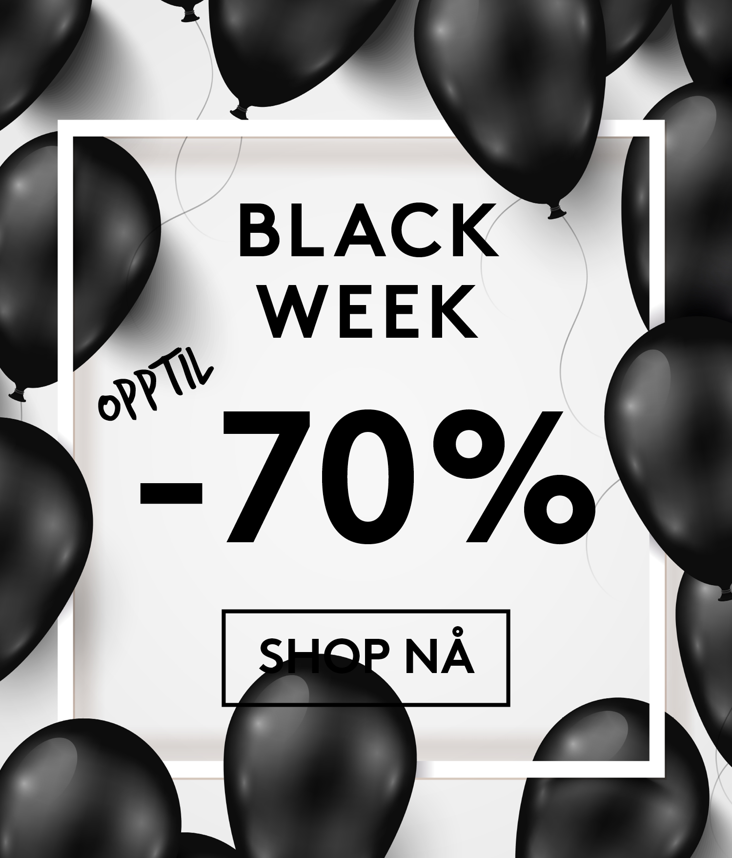 Black Friday + Black Week tilbud på sko